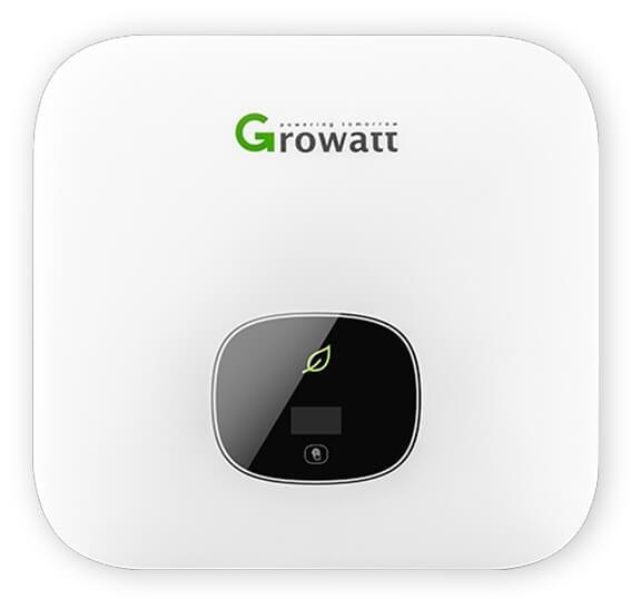 Growatt 5,4 kWp styring