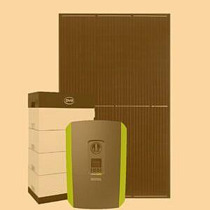 Solceller med batteri